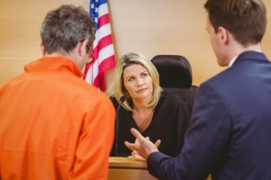 controlled substance criminal defense in the courtroom