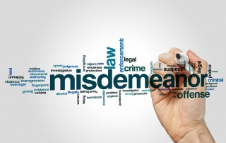 arizona misdemeanor classes